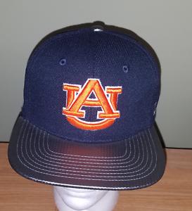 timeless design fb527 2eb95 Image is loading Auburn-Tigers-NCAA-Blue-Adjustable-Zephyr-Hat-NEW