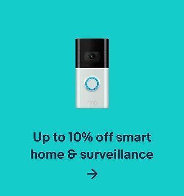 Up to 10% off smart home & surveillance