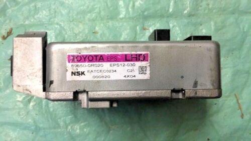 2013 Toyota RAV4 power steering module computer 89650-0R020