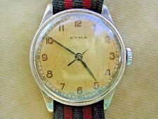 WW2 CYMA ROYAL NAVY FLEET AIR ARM PILOT'S WATCH, HS8 SUPERB EXAMPLE 6B/159