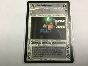 Star-Wars-Game-Card-Luke-With-Lightsaber-Special-Edition-Jedi-Light-Side
