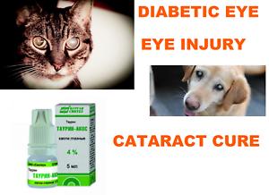 dog cat cataract eye drops eye injury treatment 5ml2  ebay