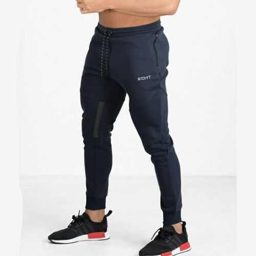 Echt Mens Pants Sports Training Summer Fitness Workout Gym Running Sweatpants