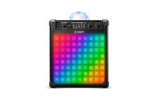 Ion Party Rocker Max 100Watt Bluetooth Rechargeable Speaker Multi-Effect Lights