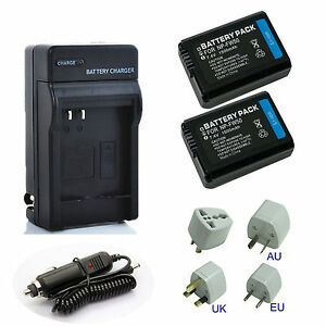 NP-FW50 Battery / Charger for SONY NEX-3 3N NEX-5T NEX-6 NEX-7 A5000 A6000 A7 | eBay