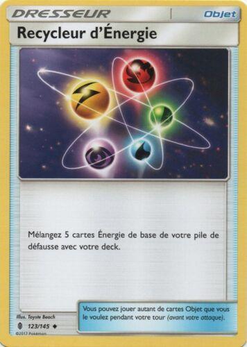 Reverse Recycleur d/'Énergie X1 VF Français SL2-123//145 Pokemon