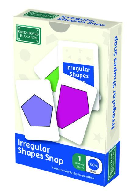 Forme irregolari Snap e Coppie CARD GAME-gioco educativo per bambini 7+.