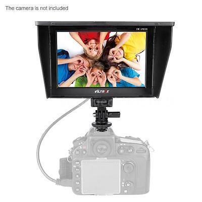 """VILTROX DC70Ⅱ 7"""" Clip-On LCD HD Video Monitor AV for Canon Nikon DSLR Camera DV"""