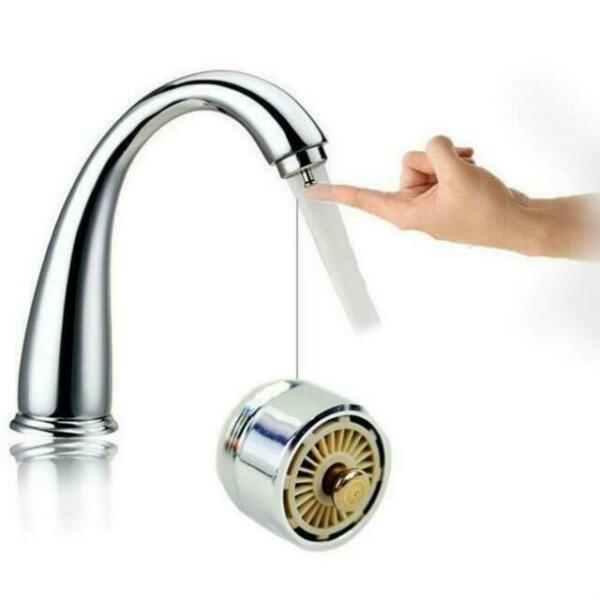 Color : Metallic, Size : One Size ADPTT Faucet Spray Head Brass Swivel Drinking Hot /& Cold Water Faucet 3 Way Water Filter Purifier Golden Kitchen Faucets Sinks Taps