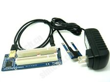 Mini PCI-E express to dual PCI riser extend adapter card with 1M cable