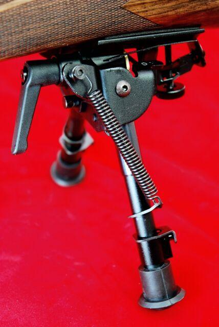 "Snipersystems Mk VIII 6-9"" tilting bipod, Podlock, rifle shooting, leg notch"