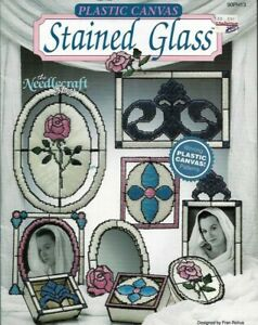 Stained-Glass-in-Plastic-Canvas-The-Needlecraft-Shop-90PH13-1990