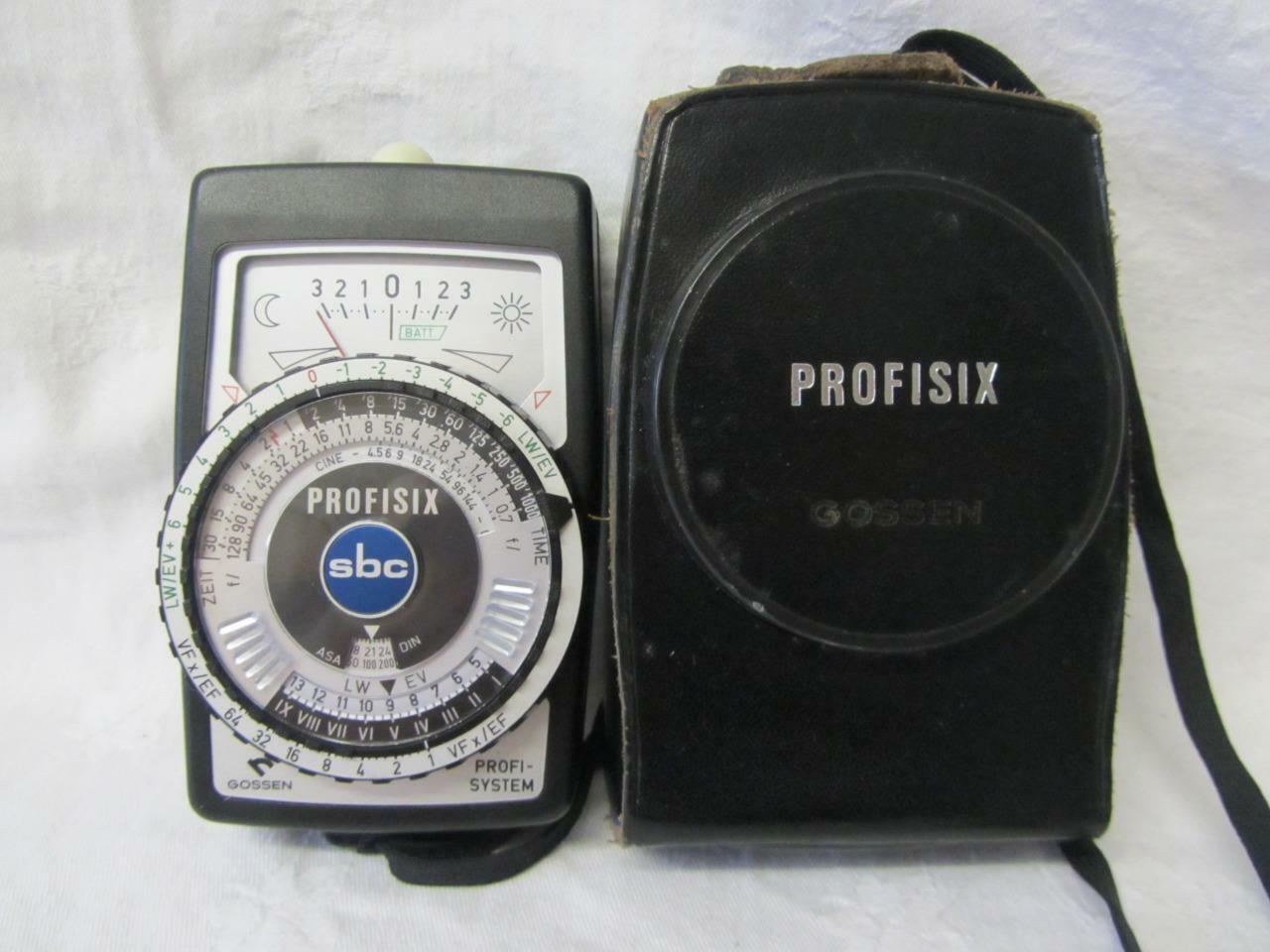 Gossen Profisix Professional Light Meter (Lunasix Pro SBC) Cased (working)