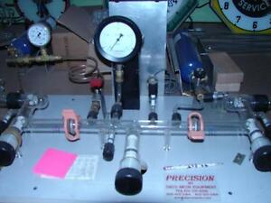 Precision-neon-plant-by-Daco-complete-working-lots-of-glass-tubing-top-of-line