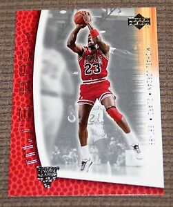 promo code 4f718 d3af7 Image is loading Michael-Jordan-2001-Upper-Deck-MJ-Back-1987-