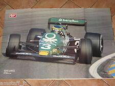 # POSTER MICHELE ALBORETO TYRRELL BENETTON GP F.1 ZANDVOORT 1983 MISURE CM.80X53