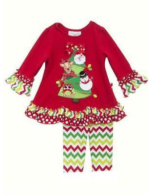 New Girls Bonnie Jean sz 12m Red Black PENGUIN Tutu Outfit Christmas Clothes $55