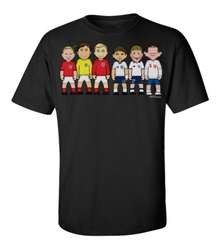 England Football Legends By VIPwees Mens T-Shirt