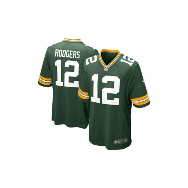 e43f82c1ce02e Nike NFL Green Bay Packers Home Game Jersey - Aaron Rodgers Medium ...