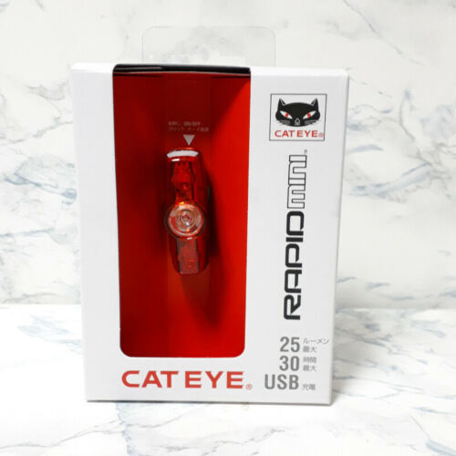 CAT EYE Tail Llight RAPID mini TL-LD635-R USB Rechargeable