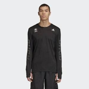 adidas-x-Neighborhood-NBHD-Run-Tee-Black-RRP-120-Brand-New-FQ6818-RARE