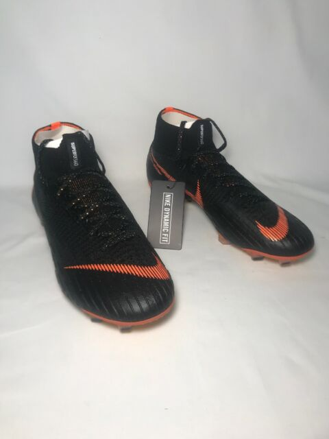 best service 89383 1072a Nike Mercurial Superfly 6 Elite FG Soccer Cleats Black Ah7365-081 Size 6 US