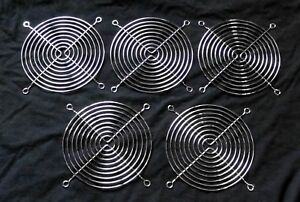 Circotech 60mm Black Wire Fan Grill//Guard Set of Four