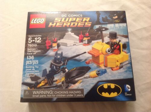 LEGO DC Universe Super Heroes Batman The Penguin Face off 76010 New