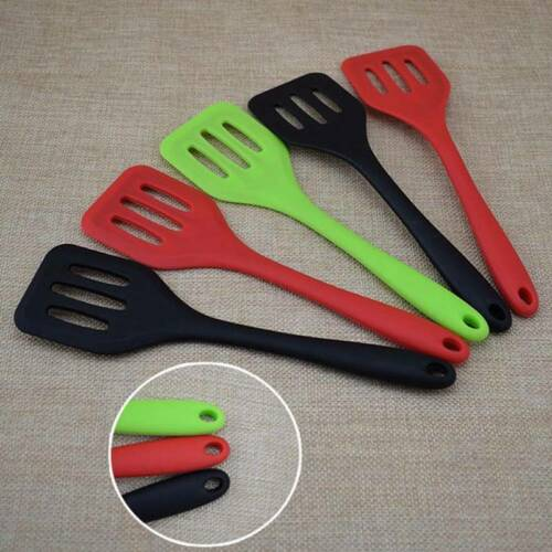 Colour Works Silicone Fish Slice /& Egg Turner Slotted Kitchen shovel Craft #US n