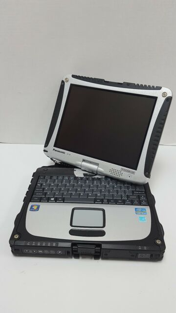 PANASONIC TOUGHBOOK CF-19 CF-191HYAX1M MK6 I5 3320M 2.6GHZ 4GB 500GB 7P TOUCH