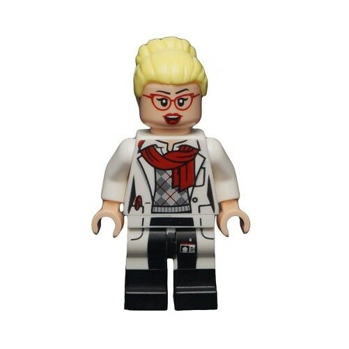 LEGO 79102 - Batman - Dr. Harleen Quinzel - rot Glasses - Minifig   Mini Figure