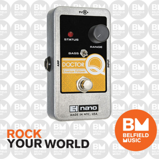 Electro-Harmonix EHX Nano Doctor Q Envelope Filter Effects Pedal FX - BNIB - BM