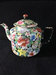 STUNNING-Antique-Chinese-Teapot