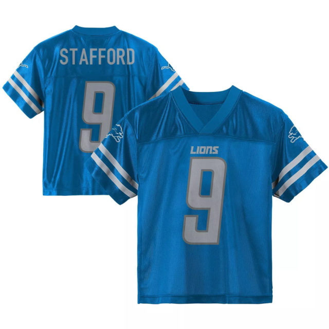 NFL Detroit Lions Youth Matthew Stafford 9 Jersey Size Large 12/14 ...