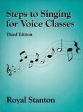 Steps to Singing for Voice Classes, Royal Stanton, Acceptable Book
