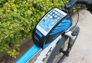 Cycling Frame Bag Bicycle Bike MTB Front Top Tube Cell Phone Pouch Waterproof US