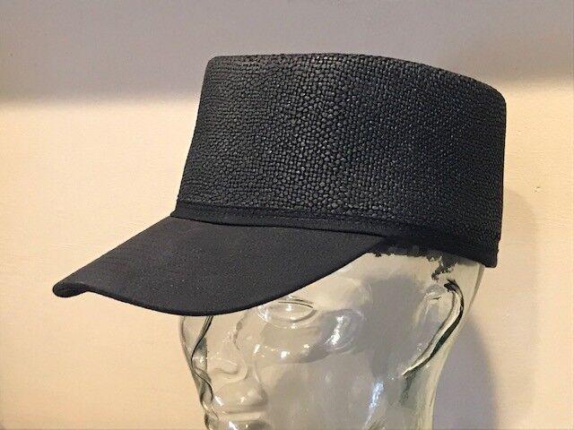 Bailey of  Hollywood Breed 100% Straw  of Birks Blocked Baseball Hat Cap LARGE 353579