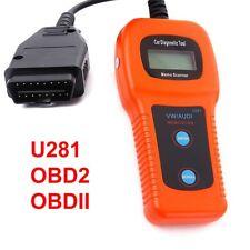 Xtool U281 Can Bus Obd2 Scanner Car Diagnostics Scan Tool for VW
