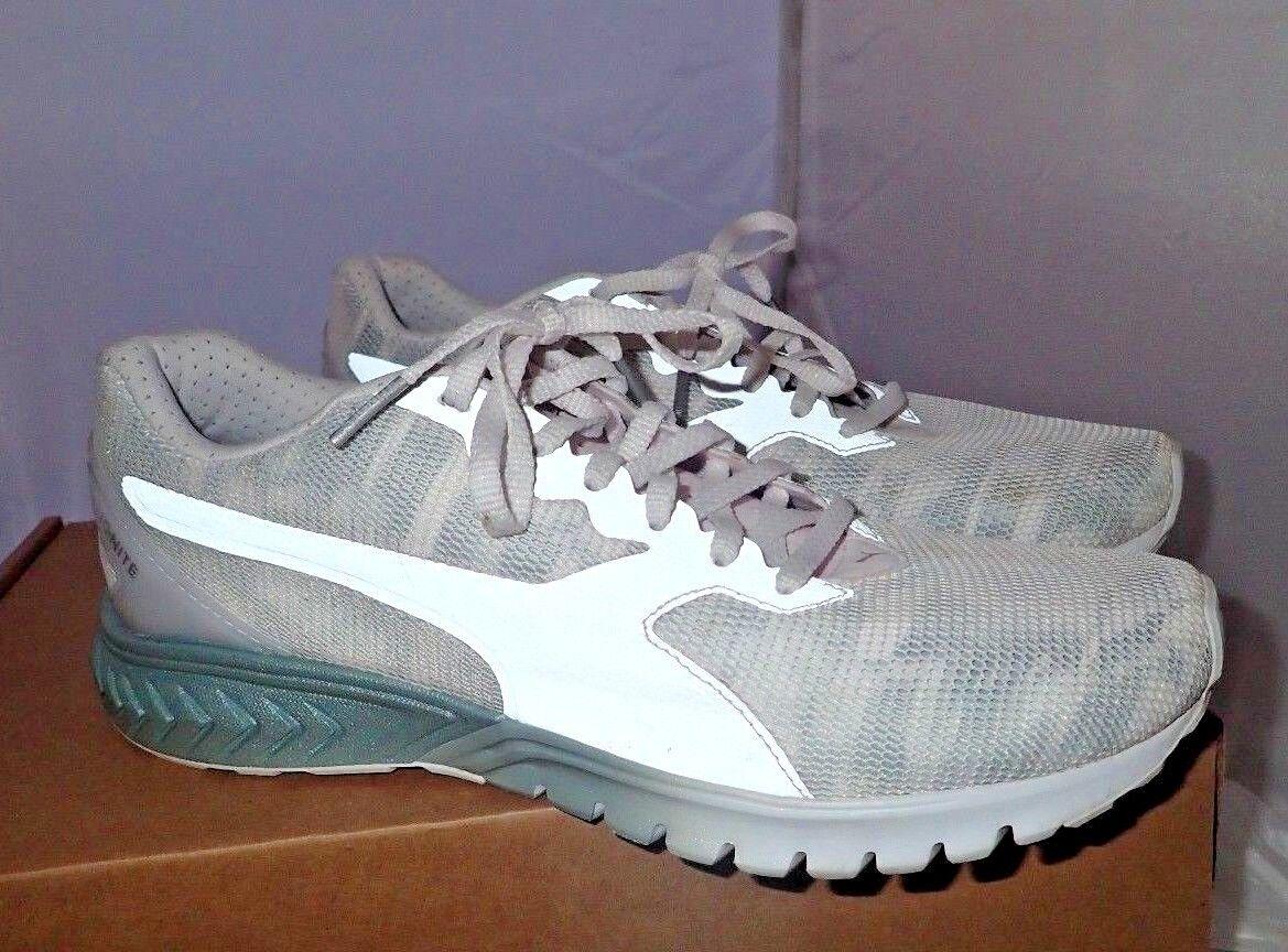PUMA Women's Ignite Dual Swan WN's Cross-Trainer Shoe, White-Quarry, 9 M Great discount