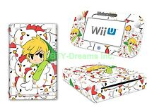 Zelda Link Triforce* Video Game Vinyl Skin Sticker Decal Protector for Wii U