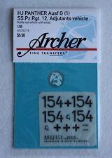Archer 1/35 HJ Panther G (1) SS.Pz.Rgt.12 Regimental Adjutant's Vehicle AR35275