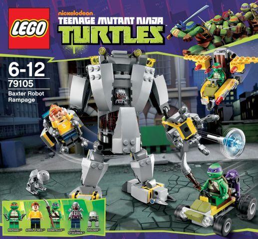 LEGO Tartarughe Ninja - 79105 BAXTERS robot-NUOVO & OVP