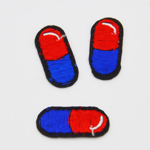 Mini Capsule shell Embroidery Iron on patch sewn For clothing applique badge Bag