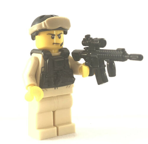 Lego Modern Combat US SFOD-D Army Delta Force Soldier Minifigure