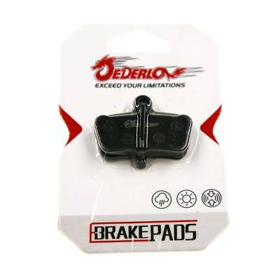 8 PADS DISC BRAKE PAD FOR SEMI METAL SRAM GUIDE RSC//RS//R ACID XO E7 E9 TRAIL