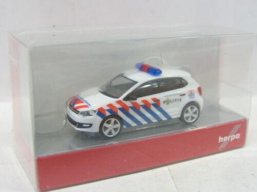uu2686 Herpa 049504 VW Polo politie OVP 1:87