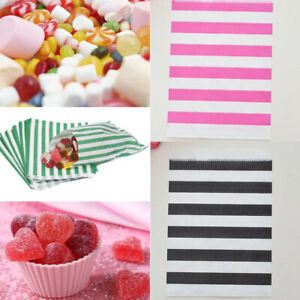 12Pcs-Striped-Wave-Candy-Paper-Bag-Wedding-Party-Cake-Shop-Buffet-Packing-Supply