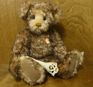 Knickerbocker-118047-CAMILLE-15-034-Jointed-Mohair-bear-NEW-from-Retail-Store