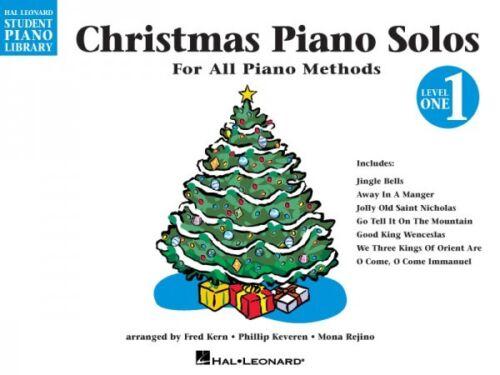Christmas Piano Solos Level 1 Hal Leonard Student Piano Library Educat 000296049