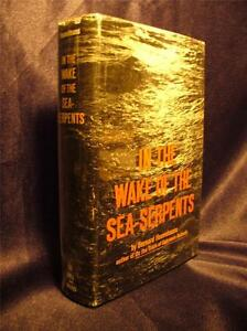 Details about 1968 SEA SERPENTS NESSIE LOCH NESS LEVIATHAN DINOSAUR CRYPTID  RARE BOOK BIOLOGY